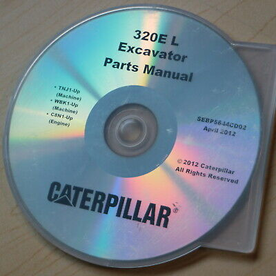 CAT CATERPILLAR 320 L N Excavator Parts Manual Catalog crawler book