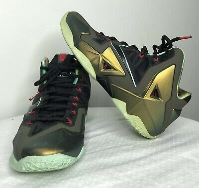5fb1a18896f6 Men s Nike LeBron 11 XI Kings Pride Limited Edition Shoes 616175-700 Size 8