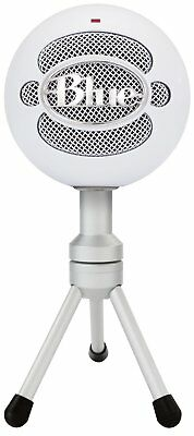 Blue Microphones Snowball ICE USB Microphone White Plug-and-Play