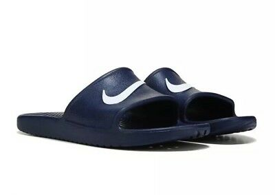 5d21cac823db NIKE MENS KAWA Slip On Shower Slides Gym Beach Swimming Sandals Pool ...