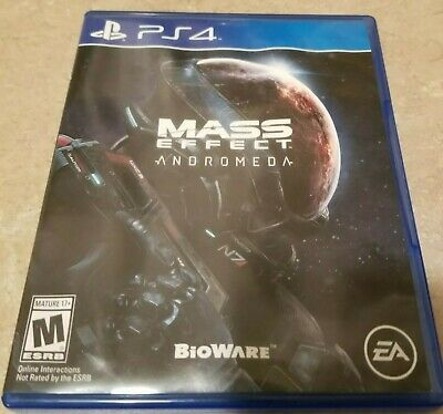 Mass Effect: Andromeda PlayStation 4 Video Game (2017 M) - Good