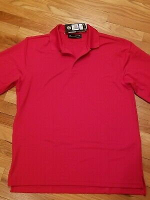 fd297706 NWT Under Armour Men's Red UA Tactical Performance Long Sleeve Polo Shirt