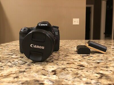 Canon EOS 70D 20.2MP Digital SLR Camera (w/ EF-S IS STM 18-135mm lens & extras)