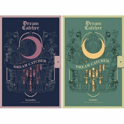 DREAM CATCHER [THE END OF NIGHTMARE] 4th Mini Album 2 Ver SET+2Photo Book+8Card