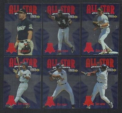Lot of 33 1997 Collector's Choice All-Star Connection THOMAS BAGWELL GWYNN L98