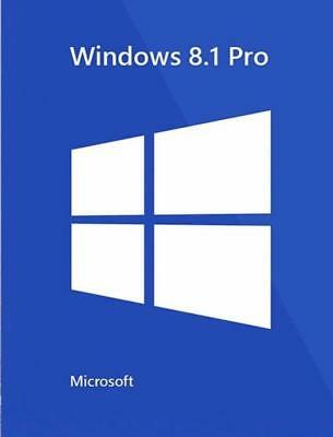Windows 8.1 Professional Pro Key 32 / 64 Bit Activation Key License Key Genuine