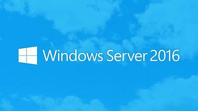 Windows Server 2016 Standard 64bit Genuine Key Instant Delivery