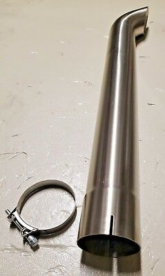 Stainless Steel Exhaust Pipe Stack 101mm.(4'' inches) Inside Diameter
