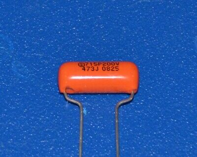 """Orange Drop"" Capacitor 0.047µF for Fender etc."