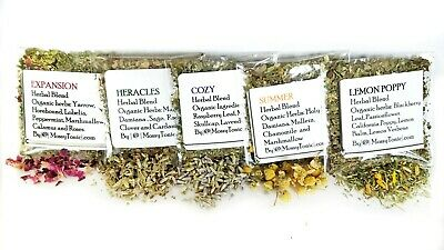 SAMPLE PACK | Try all 5 Herbal Smoking Blends | In Eco-friendly bags