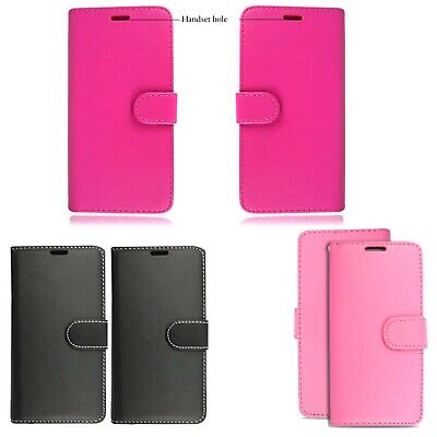 Nokia 100% Pu Leather Magnetic Closure Good Stitching Plain Book Case Cover