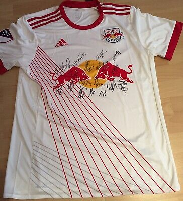 Trikot/ Jersey MLS New York Red Bulls signiert