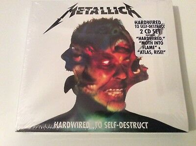 Metallica Hardwired To Self-Destruct 2Cd Set New/sealed.