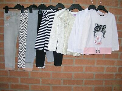 NEXT GAP GEORGE TU etc Girls Bundle Jeans Tops Dress Cardigan Age 3-4 104cm