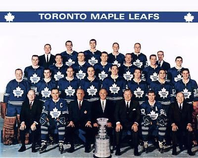 1967 Toronto Maple Leafs Team Photo 8X10