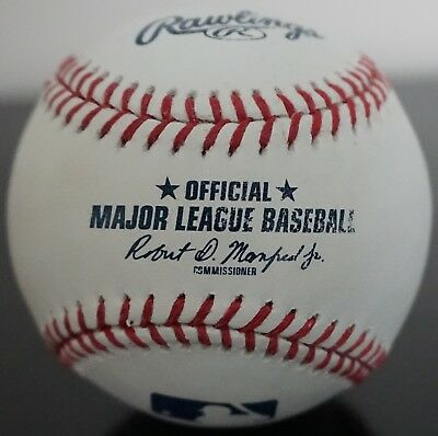 Real Authentic Official Rawlings Major League Baseball MLB Ball Used Cleaned