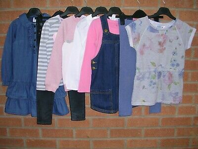NEXT RIVER ISLAND HELLO KITTY etc Girls Bundle Jumpers Tops Dress Age 4-5 110cm