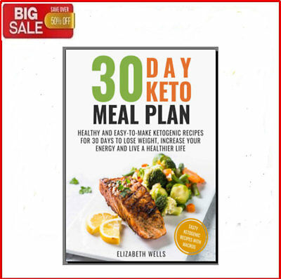 30 Day Keto Meal Plan - Eb00k/PDF - FAST Delivery