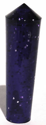 toggle switch cover(5) purple short glitter cone end plastic for Peterbilt 77-04