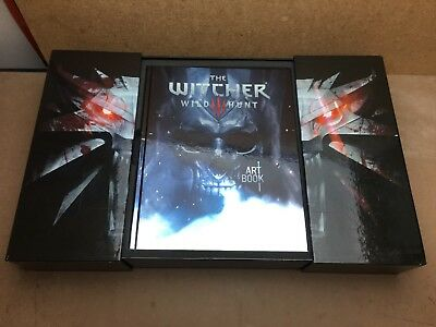 The Witcher 3 Wild Hunt Collector's Edition Artbook + Collector's Box New