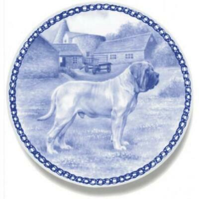 Mastiff - Dog Plate made in Denmark from the finest European Porcelain