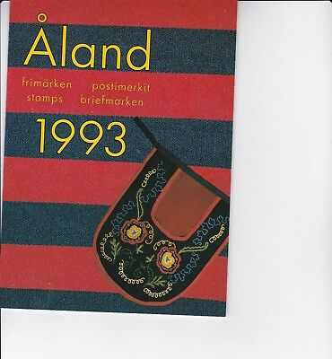 Aland (province of Finland) 1993 Year Pack of Stamps