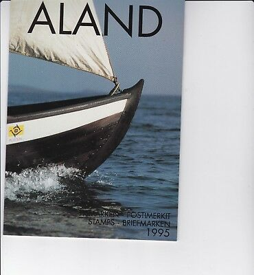 Aland (province of Finland) 1995 Year Pack of Stamps
