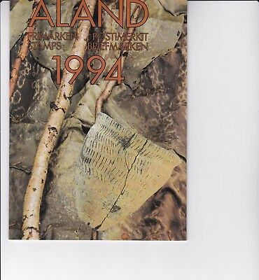 Aland (province of Finland) 1994 Year Pack of Stamps
