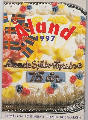 Aland (province of Finland) 1997 Year Pack of Stamps