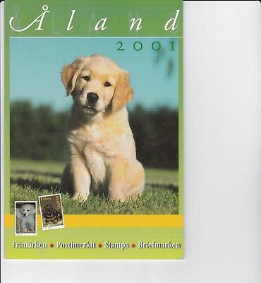 Aland (province of Finland) 2001 Year Pack of Stamps