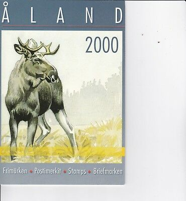 Aland (province of Finland) 2000 Year Pack of Stamps
