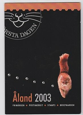 Aland (province of Finland) 2003 Year Pack of Stamps