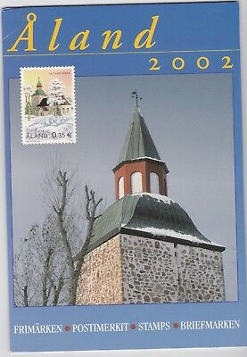 Aland (province of Finland) 2002 Year Pack of Stamps
