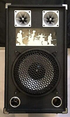 ACTIVE PASSIVE PA SPEAKER Replacement IN Black 160W