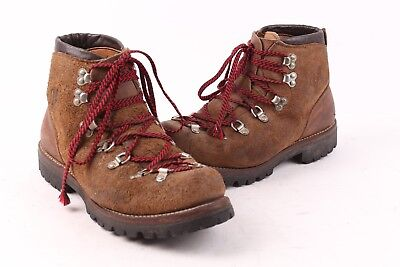 031dad3d028 Vtg 70S Vasque Leather Moutainering Hiking Trail Boots Usa Mens Size 8.5 C