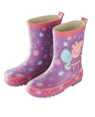 Official PEPPA PIG fairy wellies purple size 9. BNWT. Free P&P