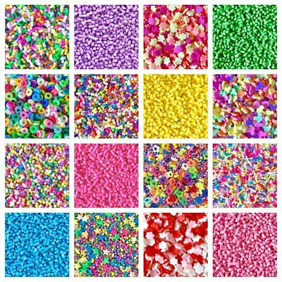 10g Kawaii FAKE Faux MINI Clay Slices Sprinkles Slime Phone Decoden  CRAFTS *UK*