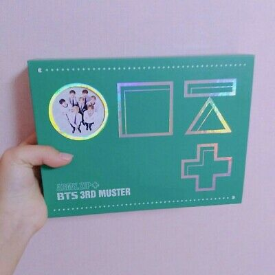 BTS 3RD MUSTER Army Zip + Official DVD Full Set 3 Disc + Photo card(Jimin)
