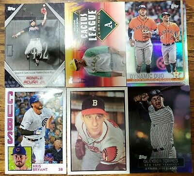 2019 Topps Series 1 Baseball Inserts - Pick Your Player - Complete Your Sets