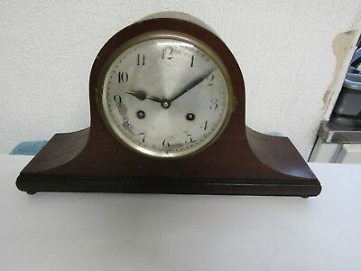Vintage Junghans Wurttemberg Mantel Clock With Chimes
