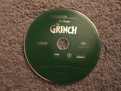 THE GRINCH Blu-ray Disc Only