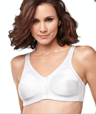 a30c6cc20e8 Amoena Mastectomy Bra Ava Style  2115 Pocketed Soft Cup Wire Free White Sz  34C