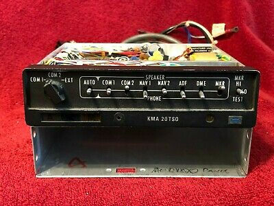 King Kma 20 Marker Beacon Receiver & Isolation Amplifier P/n 066-1024-03