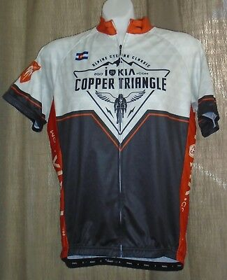 Primal Men s Cycling Jersey Size Large 2017 Colorado Copper Triangle Full  Zip ccf053807