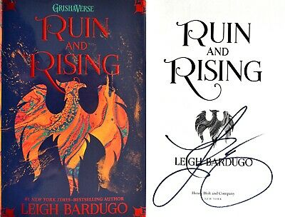 Leigh Bardugo~SIGNED IN PERSON!~Ruin and Rising~1st Ed + Photos!! GRISHAVERSE