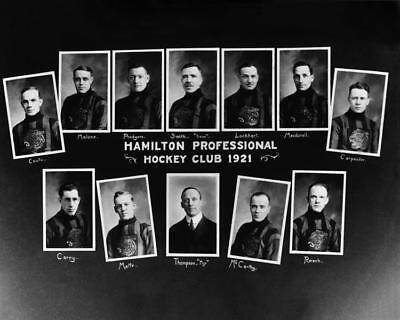 1921 Hamilton Professional Hockey Team Photo 8X10