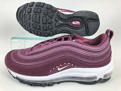 Details about Nike Air Max 97 SE Corduroy Bordeaux AQ4137 600