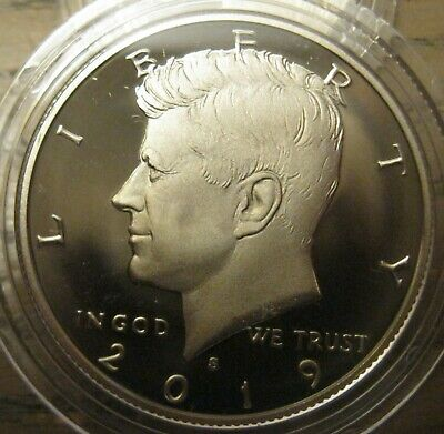 2019-s Clad Deep Cameo Proof Kennedy Half Dollar IN STOCK READY FOR SHIPMENT!