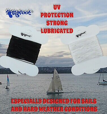 15m THICK STRONG BONDED .85mm THREAD. CANVAS, MARINE, SAILMAKING. UV PROTECTED