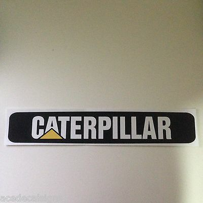 """Caterpillar Cat Decal Sticker for front of """"C"""" series skid steer & CTL Loader"""